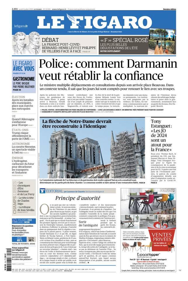 Le Figaro du 09 juillet 2020