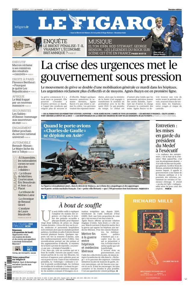 Le Figaro du 11 juin 2019