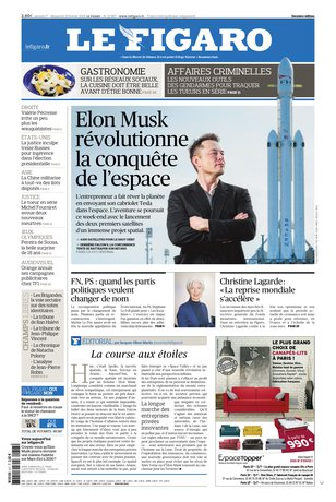 Le Figaro du 17 février 2018