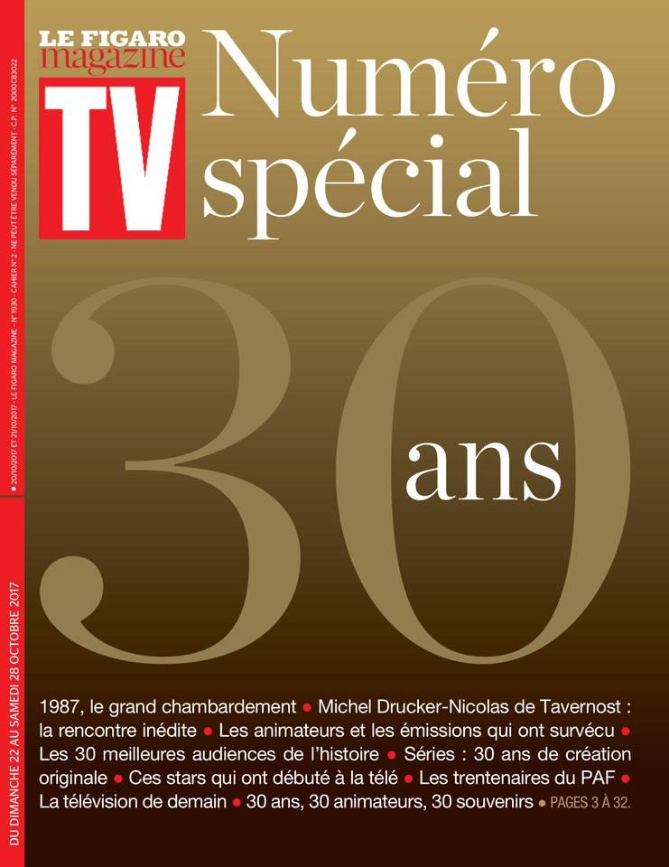 TV Magazine du 22 octobre 2017