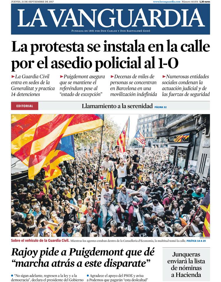 la vanguardia lavanguardia On la parrilla de la vanguardia