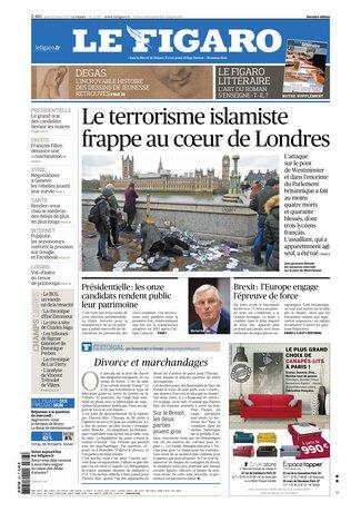 Le Figaro du 23 mars 2017
