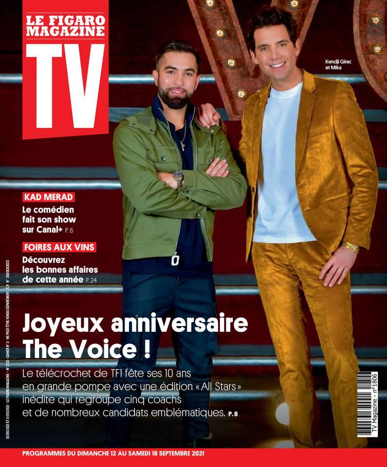 TV Magazine du 12 septembre 2021