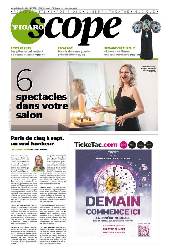 Le Figaroscope du 21 octobre 2020