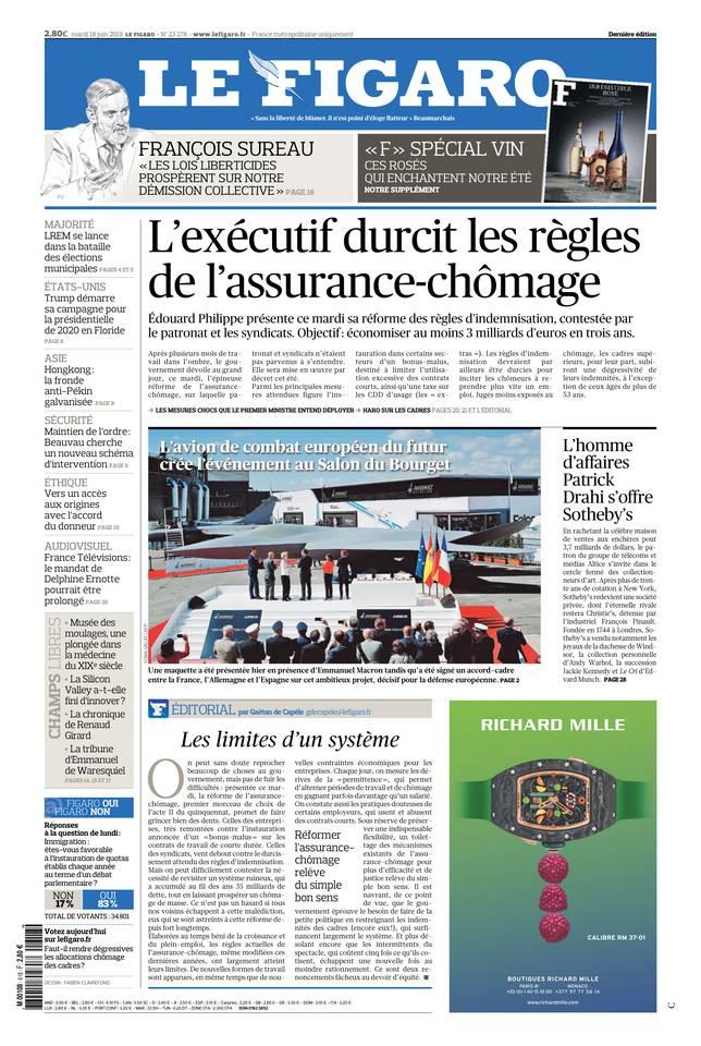 Le Figaro du 18 juin 2019