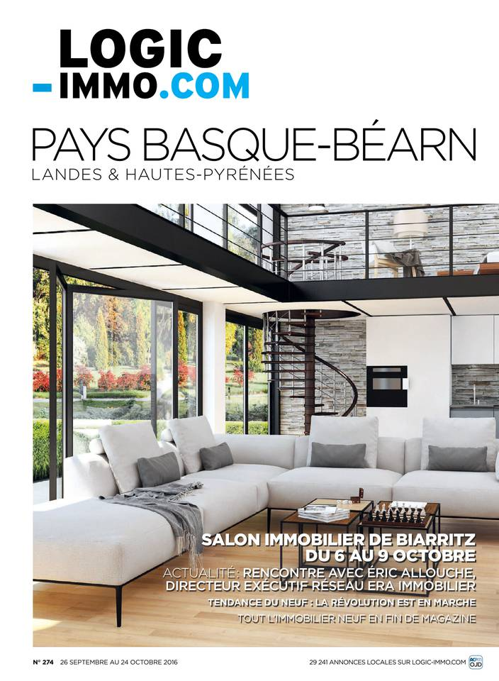 Dition pays basque bearn landes hautes pyrenees for Logic immo toulouse