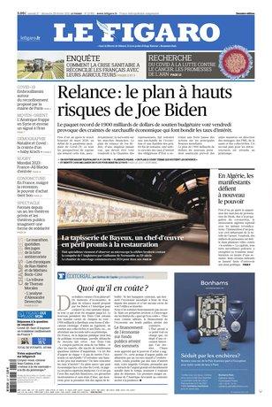 Le Figaro du 27 février 2021