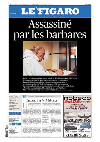 Le Figaro du 27 juillet 2016