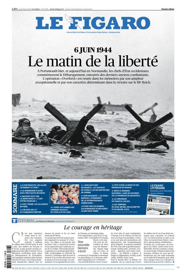 Le Figaro du 06 juin 2019