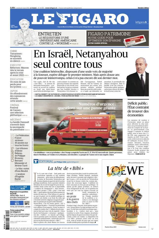 Le Figaro du 04 juin 2021