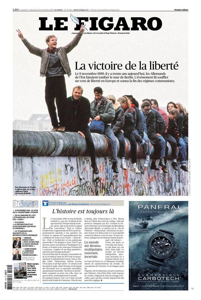 Le Figaro du 09 novembre 2019