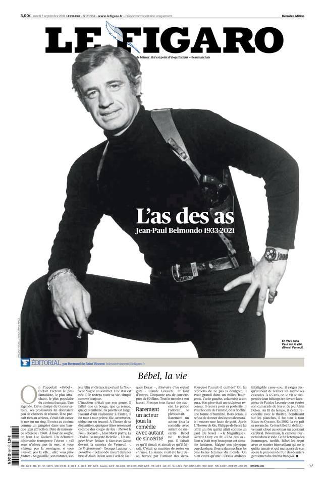 Le Figaro du 07 septembre 2021