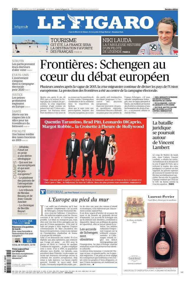 Le Figaro du 22 mai 2019