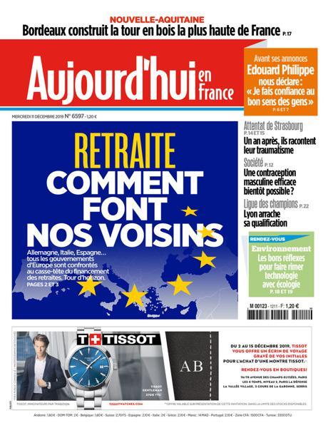 Edition du 11 Déc. 2019