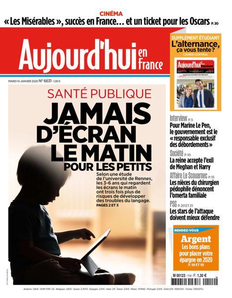 Edition du 14 Janv. 2020