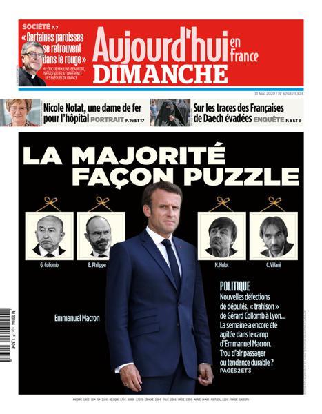 Edition du 31 Mai 2020