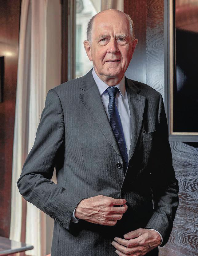 Rencontre avec  Jean-Marc Sauvé,  président des Apprentis d'Auteuil, le 24 août. Thierry Fabre