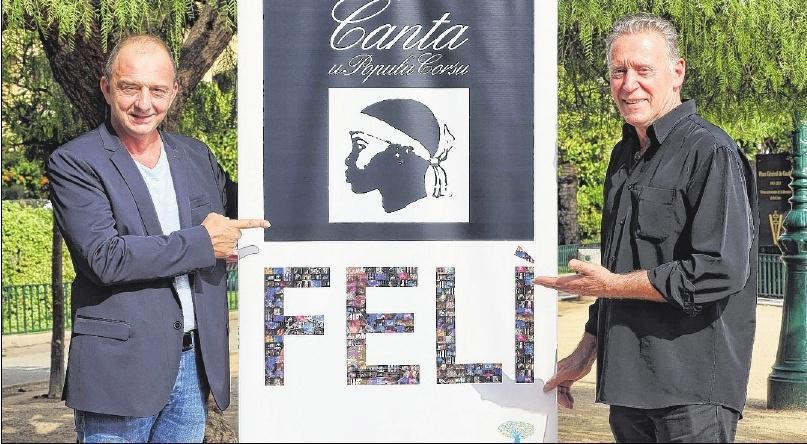 JEAN-PHILIPPE SCAPULA,Canta u populu Corsu et Felì, le 30 octobre au théâtre de Bastia et le 3 novembre au Palatinu d'Ajaccio.