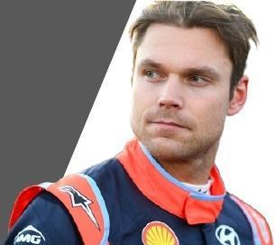 Andreas Mikkelsen,(pilote Hyundai)