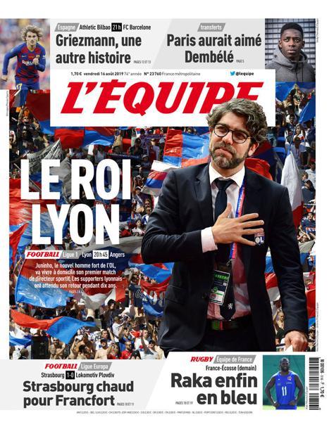 Edition du 16 Août 2019