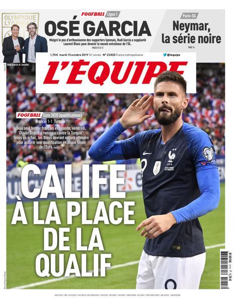 Edition du 15 Oct. 2019