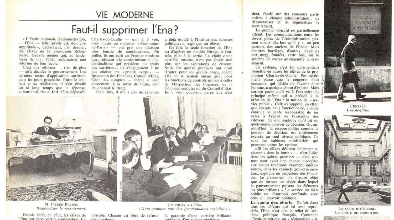 Par Jacqueline Giraud et Elisabeth Schemla (en 1971)