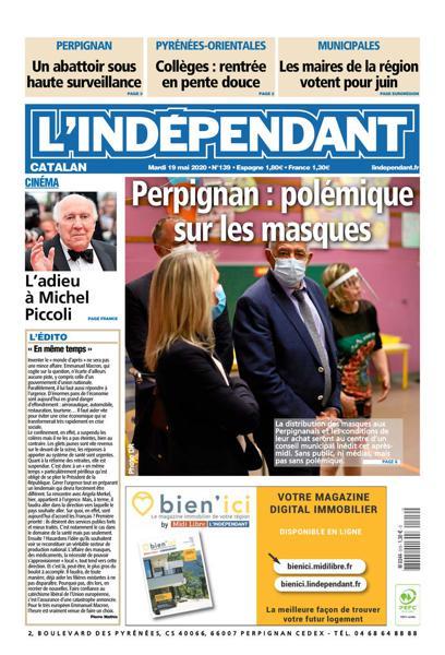 Edition du 19 Mai 2020