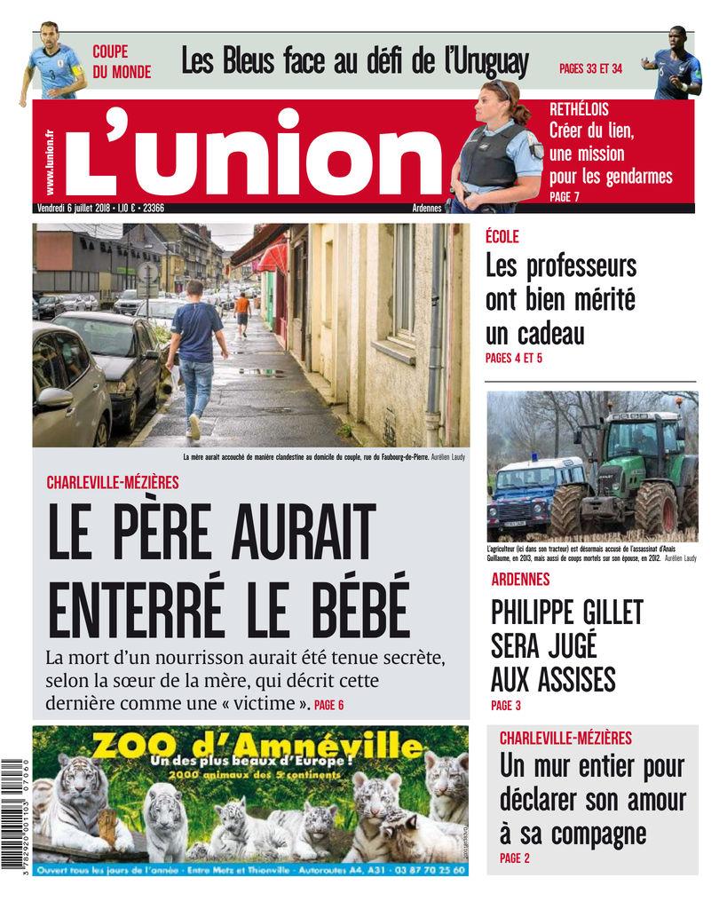 5692e0efbd710 L Union - L Ardennais Edition du 6 Juill. 2018