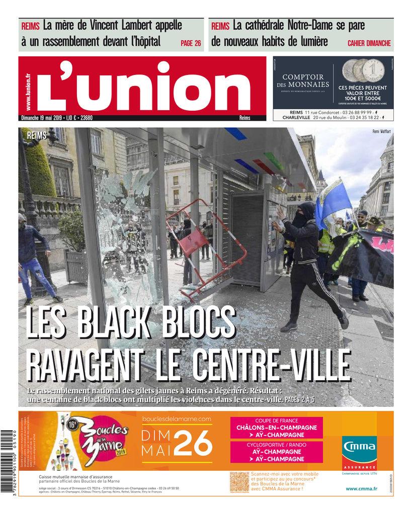34fd54e765e66 L'Union - L'Ardennais Edition du 19 Mai 2019 | SFR Presse