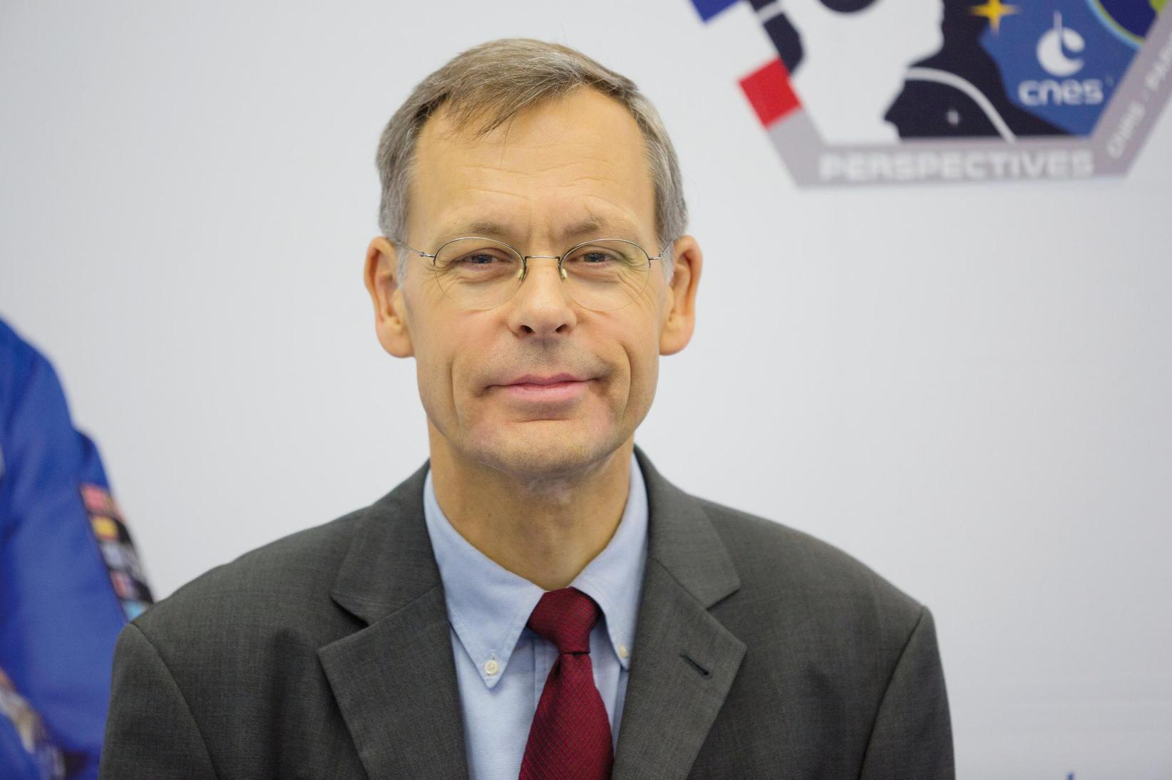Jacques Arnould, chargé de mission pour les questions d'éthique au Centre national d'études spatiales (Cnes).