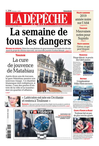 Edition du 9 Déc. 2019
