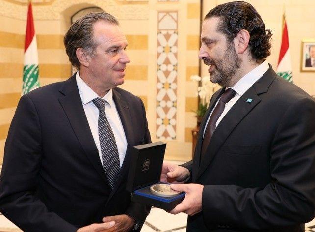 Antoine Marigot, envoyé spécial au Liban