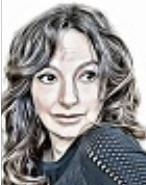 """ELIETTE ABECASSIS,Femme de lettres, réalisatrice et scénariste, auteur de """"Le maître du Talmud"""" (Ed.Albin Michel)"""