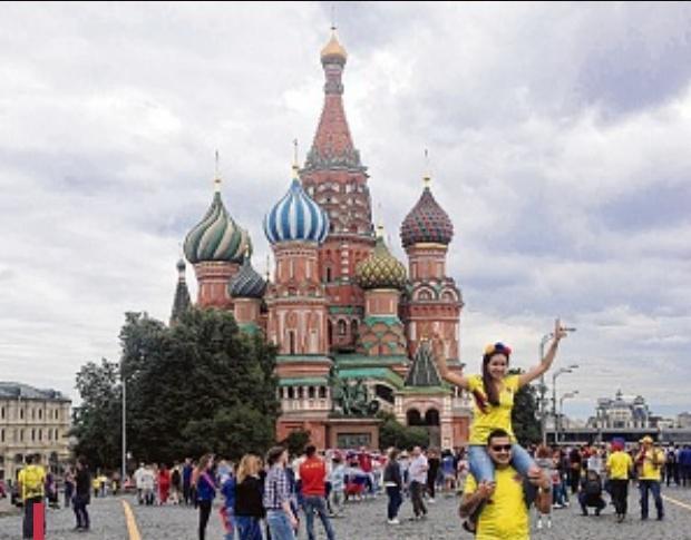 F.L., à Moscou