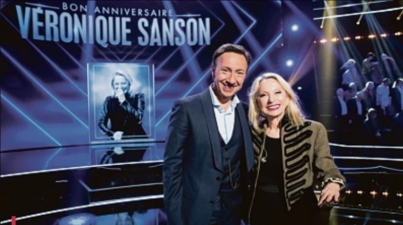 """Isabelle MERMIN,""""Bon Anniversaire Véronique Sanson"""" à 21 heures sur France 3"""