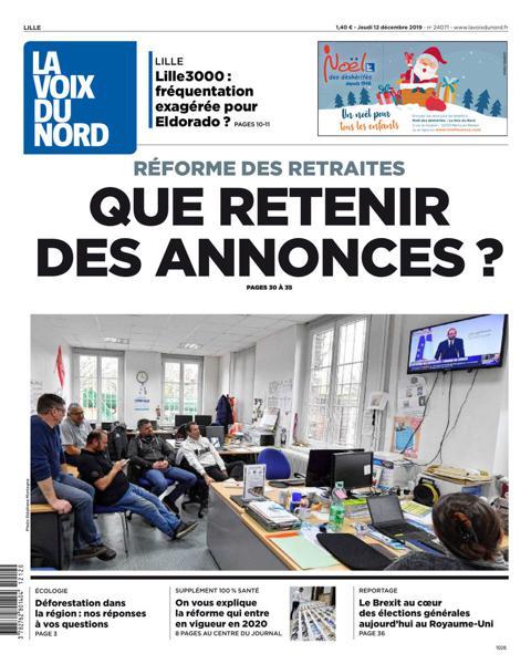 Edition du 12 Déc. 2019