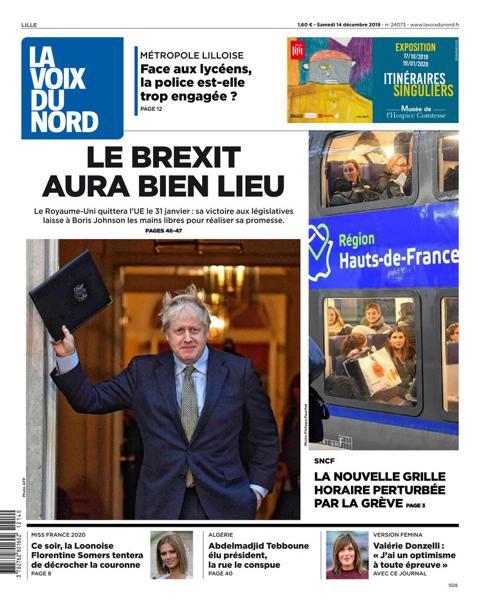 Edition du 14 Déc. 2019