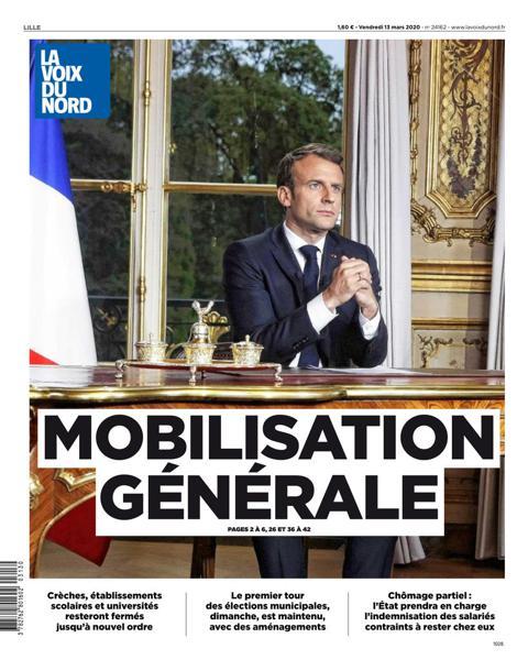 Edition du 13 Mars 2020