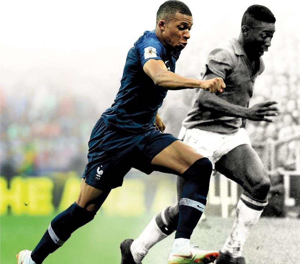 Vincent Duluc/L'Équipe,(*) Buteur contre le Mexique (2-0) lors du premier match, il se blessa contre la Tchécoslovaquie (0-0) lors du second.