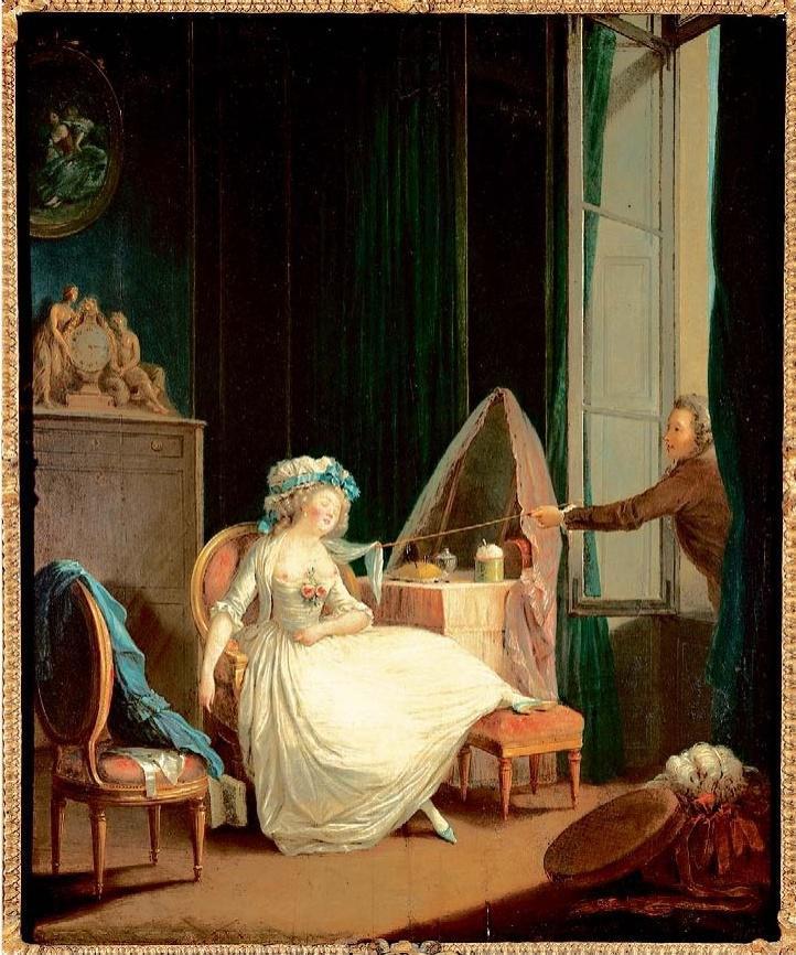 PASCALE CAUSSAT « Parfums d'interdit », musée Fragonard de Grasse (Alpes-Maritimes). Jusqu'au 23 septembre. fragonard.com/fr