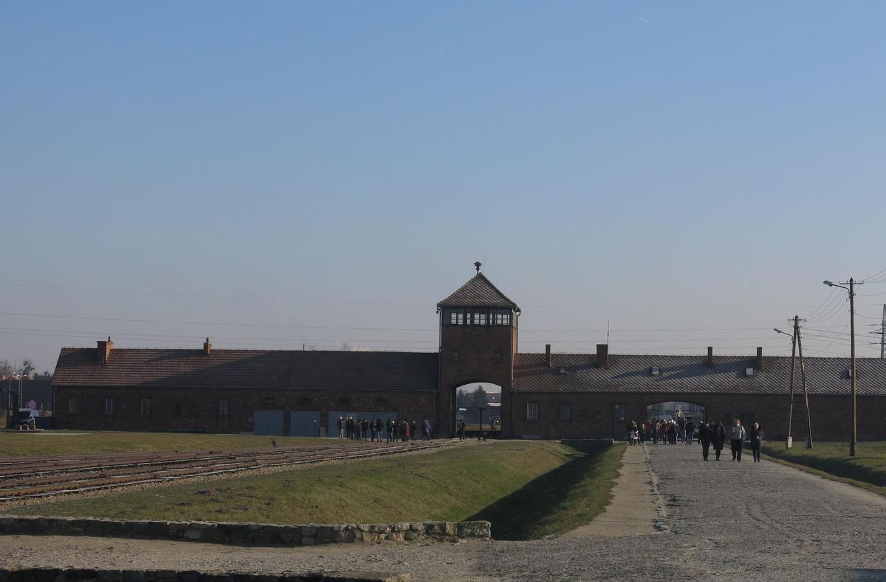 Eric Delporte, envoyé spécial à Auschwitz (Pologne)