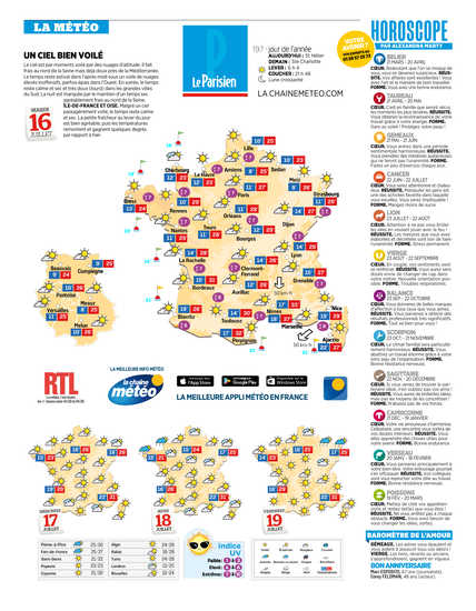 le parisiens horoscope