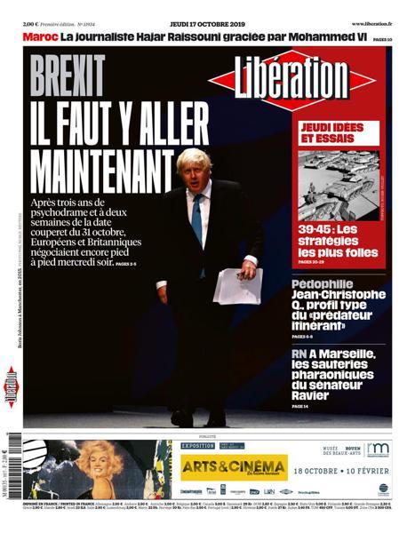 Edition du 17 Oct. 2019