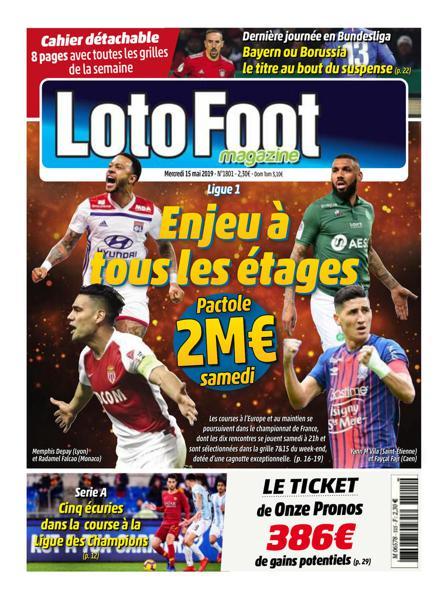 Edition du 15 Mai 2019