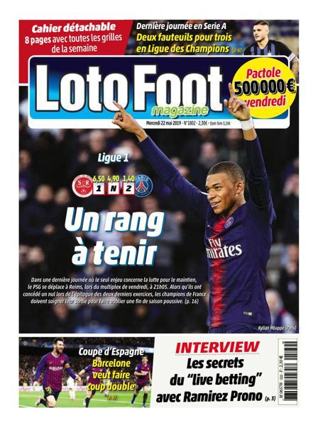 Edition du 22 Mai 2019