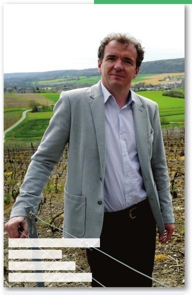 Maxime Toubart, président, Syndicat Général des Vignerons de la Champagne