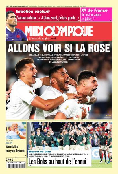 Edition du 28 Oct. 2019