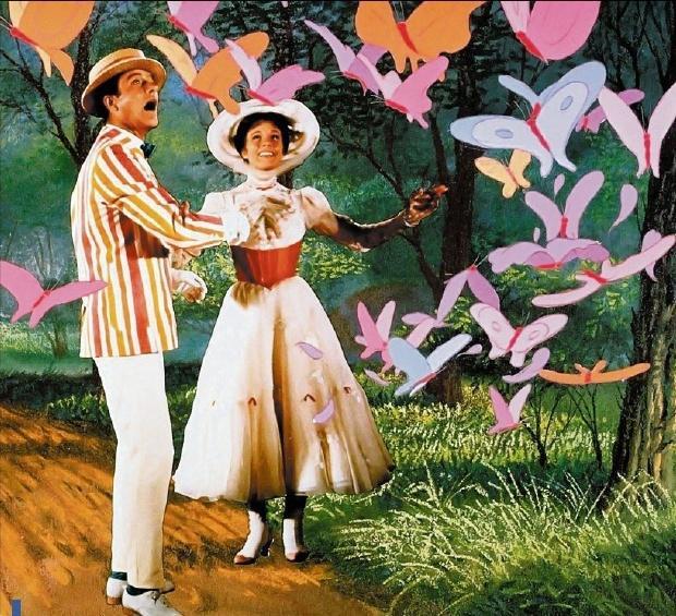 CÉLINE FONTANA,Mary Poppins à 21 heures sur M6
