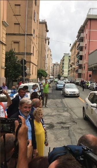 Reportage à Gênes : Stéphanie Gasiglia et Jean-François Ottonello