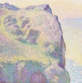 ISABELLE VARITTO,Claude Monet,,La Pointe du Petit Ailly, 1897, huile sur toile.,Georges Braque, La Caisse d'emballage, 1947, huile sur toile, collection Nahmad.,Auguste Renoir, Portrait d'Edmond Renoir Jr, 1889, huile sur toile.,Alberto Modigliani, Jeune femme à la chemise rayée, 1917, huile sur toile.,Henri de Toulouse-Lautrec, Femme à sa toilette, Mme Fabre, 1891, huile sur toile.